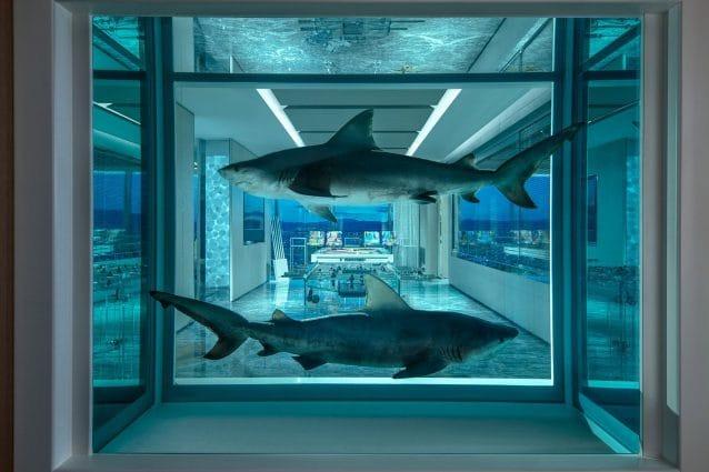 Damien Hirst crea la suite d'albergo più cara del mondo
